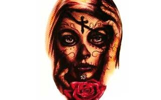tattoo catrina color